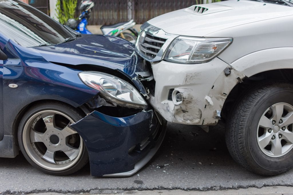 Car accident injuries.