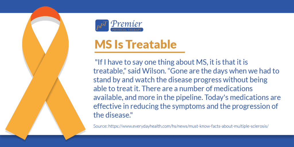 Multiple Sclerosis is treatable graphic.